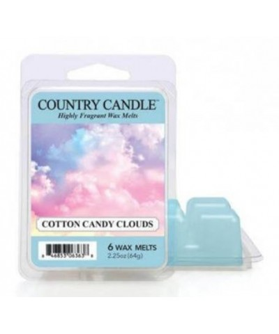 Country Candle - Cotton Candy Clouds - Wosk Zapachowy