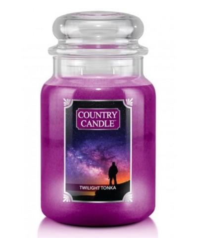 Country Candle - Twilight Tonka - Świeca Zapachowa Duża 2 Knoty