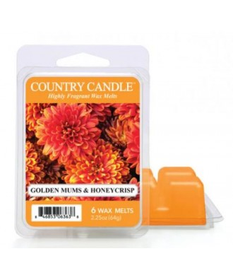 Country Candle - Golden Mums & Honeycrisp - Wosk Zapachowy