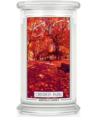 Kringle Candle - Crimson Park - Świeca Zapachowa Duża 2 Knoty