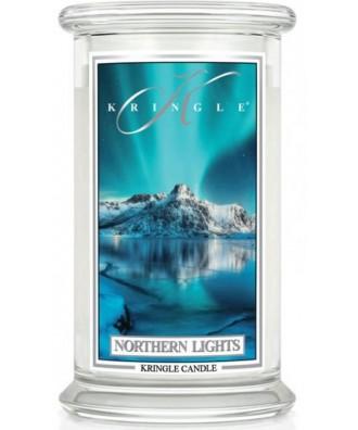 Kringle Candle - Northern Lights - Świeca Zapachowa Duża 2 Knoty