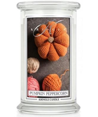 Kringle Candle - Pumpkin Peppercorn - Świeca Zapachowa Duża 2 Knoty