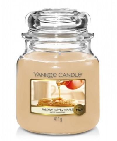 Yankee Candle - Freshly Tapped Maple - Świeca Zapachowa Średnia