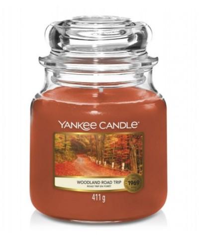 Yankee Candle - Woodland Road Trip - Świeca Zapachowa Średnia