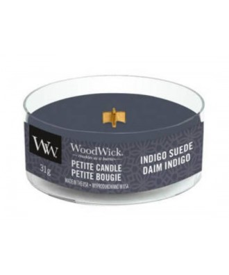 Woodwick - Indigo Suede - Petite Candle