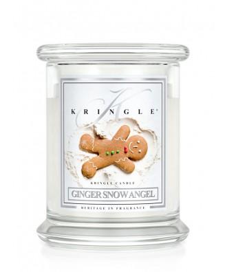 Ginger Snow Angel - Piernikowy Aniołek (Świeca Średnia 2 Knoty)