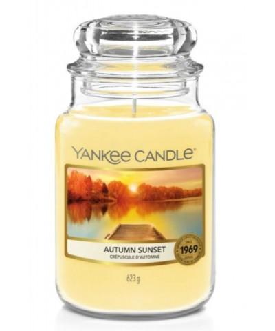 Yankee Candle - Autumn Sunset - Świeca Zapachowa Duża