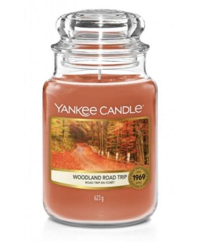 Yankee Candle - Woodland Road Trip - Świeca Zapachowa Duża