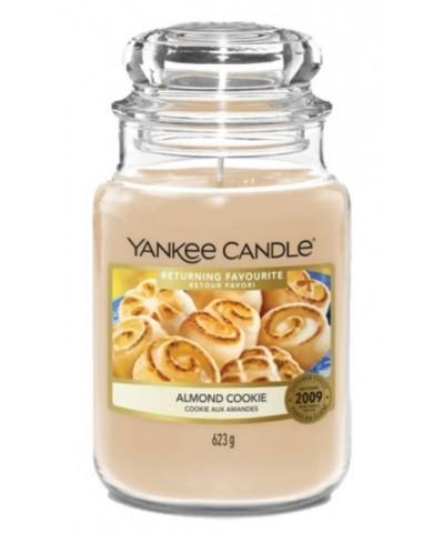 Yankee Candle - Almond Cookie - Świeca Zapachowa Duża