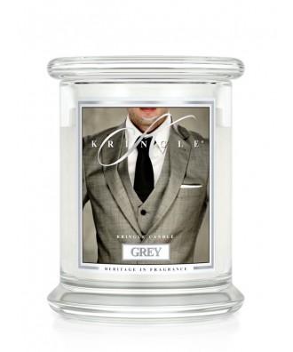 Grey - Przystojniak (Świeca Średnia 2 Knoty)