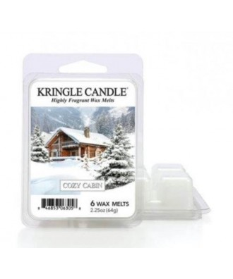 Kringle Candle - Cozy Cabin - Wosk Zapachowy