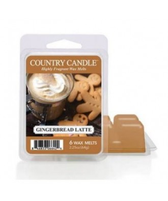 Country Candle - Gingerbread Latte - Wosk Zapachowy