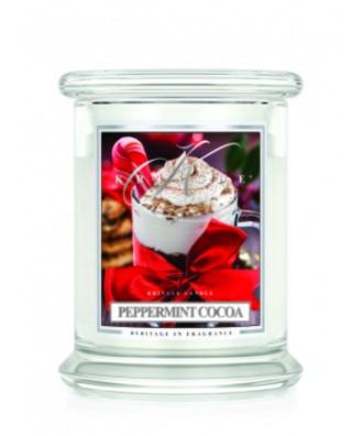 Peppermint Cocoa - Miętowe Kakao (Świeca Średnia 2 Knoty)
