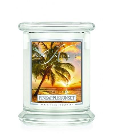 Pineapple Sunset - Ananasowy Zachód Słońca (Świeca Średnia 2 Knoty)