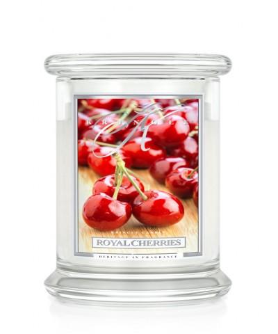 Royal Cherries - Królewskie Wiśnie (Świeca Średnia 2 Knoty)