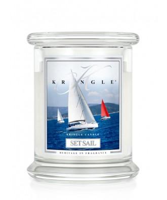 Set Sail - Podnieść Żagle! (Świeca Średnia 2 Knoty)
