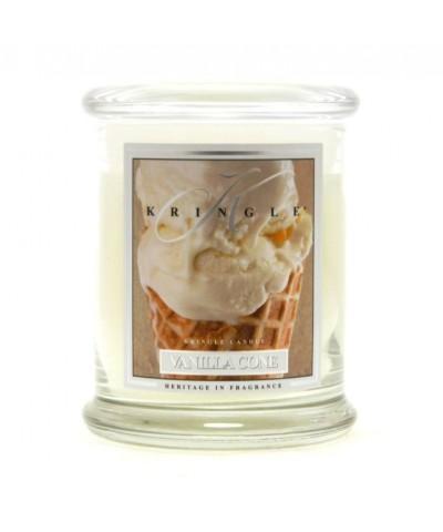 Vanilla Cone - Waniliowy Rożek (Średnia Świeca 2 Knoty)