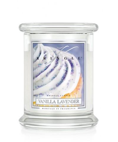Vanilla Lavender - Waniliowa Lawenda (Średnia Świeca 2 Knoty)