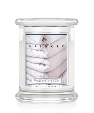 Warm Cotton - Ciepła Bawełna (Średnia Świeca 2 Knoty)