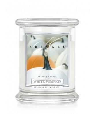 White Pumpkin - Biała Dynia (Średnia Świeca 2 Knoty)