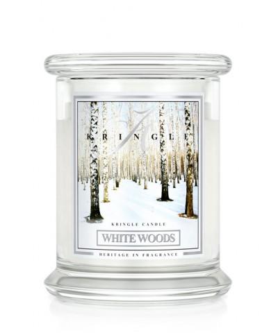 White Woods - Biały Las (Średnia Świeca 2 Knoty)