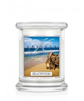 Kringle Candle - Beachwood - Drewno z Plaży - Mała Świeca Zapachowa
