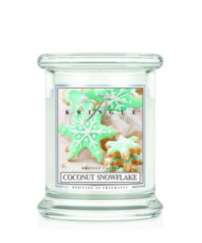 Coconut Snowflake - Kokosowy Płatek Śniegu (Mała Świeca)