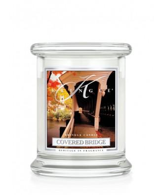 Kringle Candle - Covered Bridge - Tajemniczy Most - Mała Świeca Zapachowa
