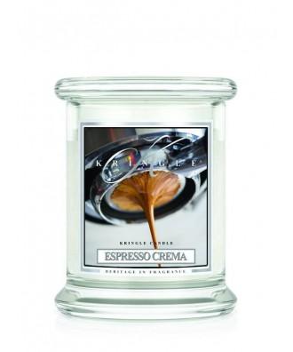 Kringle Candle - Espresso Crema - Kremowe Espresso - Mała Świeca Zapachowa