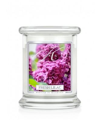 Kringle Candle - Fresh Lilac - Świeży Bez - Mała Świeca Zapachowa