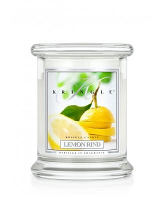 Kringle Candle - Lemon Rind - Skórka Cytrynowa - Mała Świeca Zapachowa