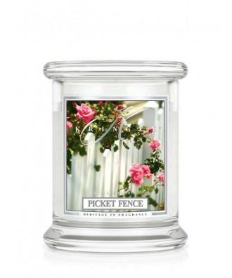 Kringle Candle - Picket Fence - Ogrodowy Płotek - Mała Świeca Zapachowa