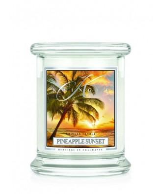 Kringle Candle - Pineapple Sunset - Ananasowy Zachód Słońca - Mała Świeca Zapachowa