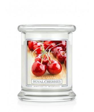 Kringle Candle - Royal Cherries - Królewskie Wiśnie - Mała Świeca Zapachowa