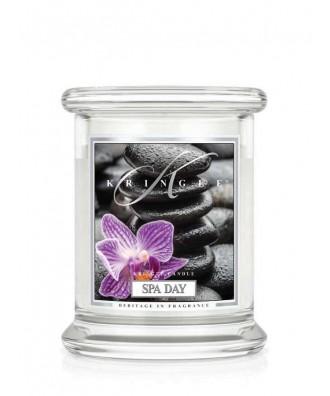 Kringle Candle - Spa Day - Dzień w SPA - Mała Świeca Zapachowa