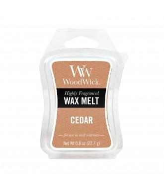 Woodwick - Cedar - Cedr - Wosk Zapachowy
