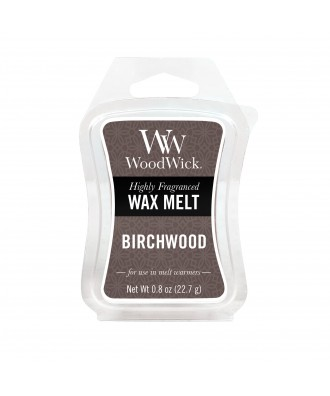 Woodwick - Birchwood - Brzozowe Drewno - Wosk Zapachowy