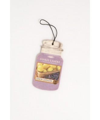 Lemon Lavender - Cytrynowa Lawenda (Car Jar)