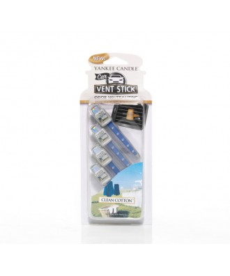 Clean Cotton - Czysta Bawełna (Car Vent Stick - 4 szt.)