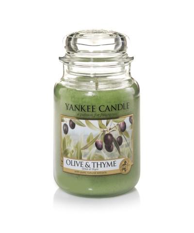 Olive & Thyme - Oliwki i Tymianek (Słoik Duży)