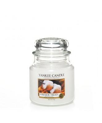Yankee Candle - Fireside Treats - Opiekane Pianki - Świeca Zapachowa Średnia
