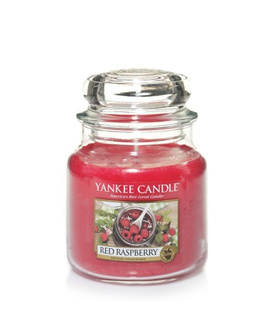 Red Raspberry - Czerwone Maliny (Słoik Średni)
