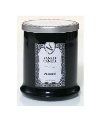 Yankee Candle - Chrome - Tumbler Mały - Seria Barbershop