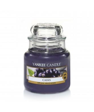 Yankee Candle - Cassis - Czarna Porzeczka - Świeca Zapachowa Mała
