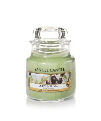 Olive & Thyme - Oliwki i Tymianek (Słoik Mały)