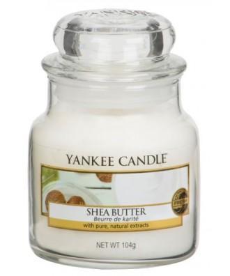 Yankee Candle - Shea Butter - Masło Shea - Świeca Zapachowa Mała