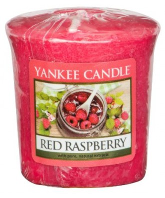 Yankee Candle - Red Raspberry - Czerwone Maliny - Votive