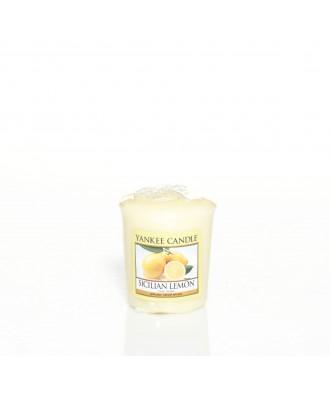 Yankee Candle - Sicilian Lemon - Sycylijska Cytryna - Votive