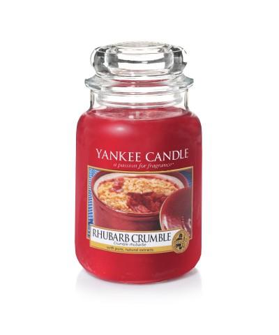 Rhubarb Crumble - Rabarbarowa Kruszonka (Słoik Duży)
