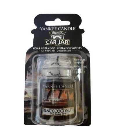 Black Coconut - Czarny Kokos (Car Jar Ultimate)